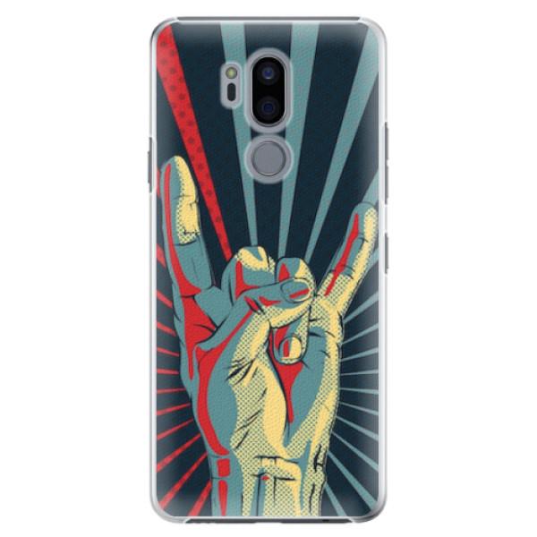 Plastové pouzdro iSaprio - Rock - LG G7