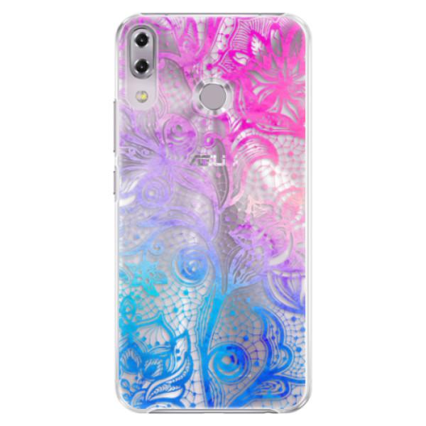 Plastové pouzdro iSaprio - Color Lace - Asus ZenFone 5Z ZS620KL
