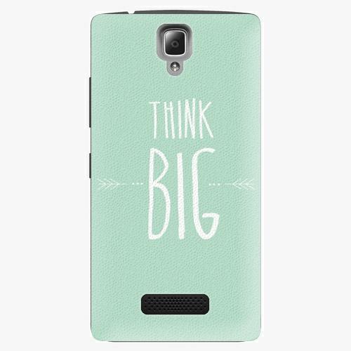 Plastový kryt iSaprio - Think Big - Lenovo A2010