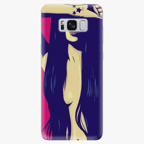 Plastový kryt iSaprio - Cartoon Girl - Samsung Galaxy S8