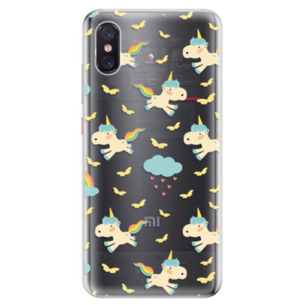 Odolné silikonové pouzdro iSaprio - Unicorn pattern 01 - Xiaomi Mi 8 Pro
