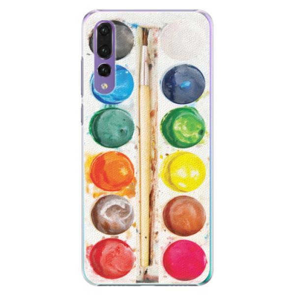 Plastové pouzdro iSaprio - Watercolors - Huawei P20 Pro
