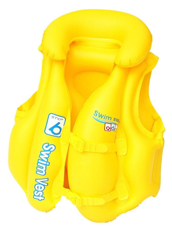 Dětská nafukovací vesta Bestway Typ B 51x46 cm - žlutá