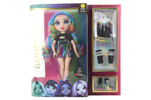 Rainbow High Fashion panenka - Amaya Raine (duhová)