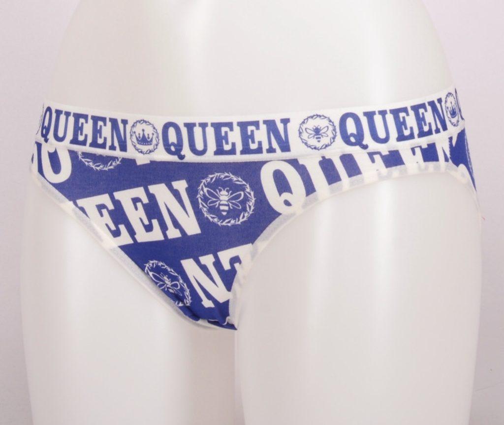 Dámské kalhotky Little queen - vínová