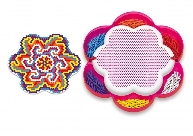 Quercetti Pixel Mandala daisy 1200 ks