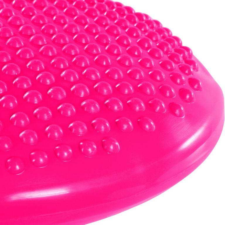 Balanční polštář na sezení MOVIT 37 cm XXL - růžový