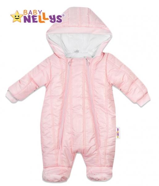 Kombinézka s kapuci Lux Baby Nellys ®prošívaná - sv.