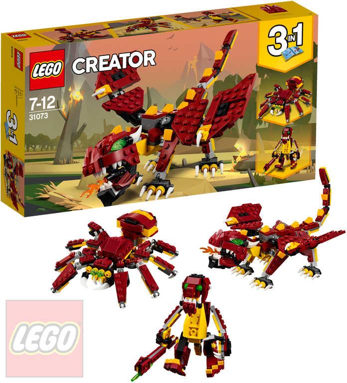 LEGO CREATOR Bájná stvoření 3v1 31073