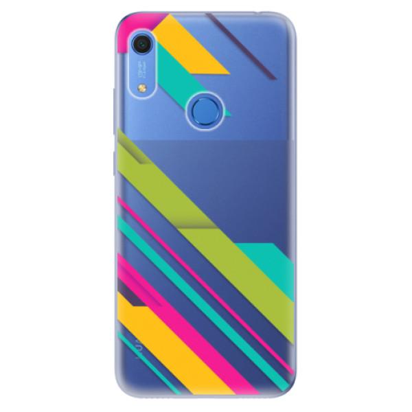 Odolné silikonové pouzdro iSaprio - Color Stripes 03 - Huawei Y6s
