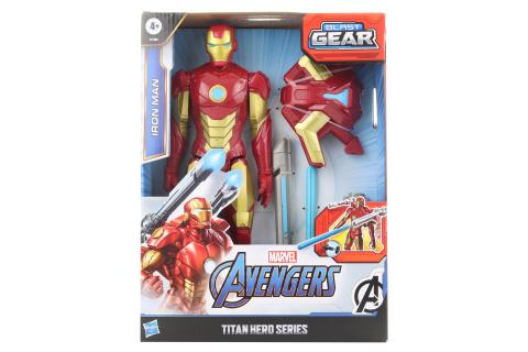 Avengers Figurka Iron man s power fx příslušenstvím