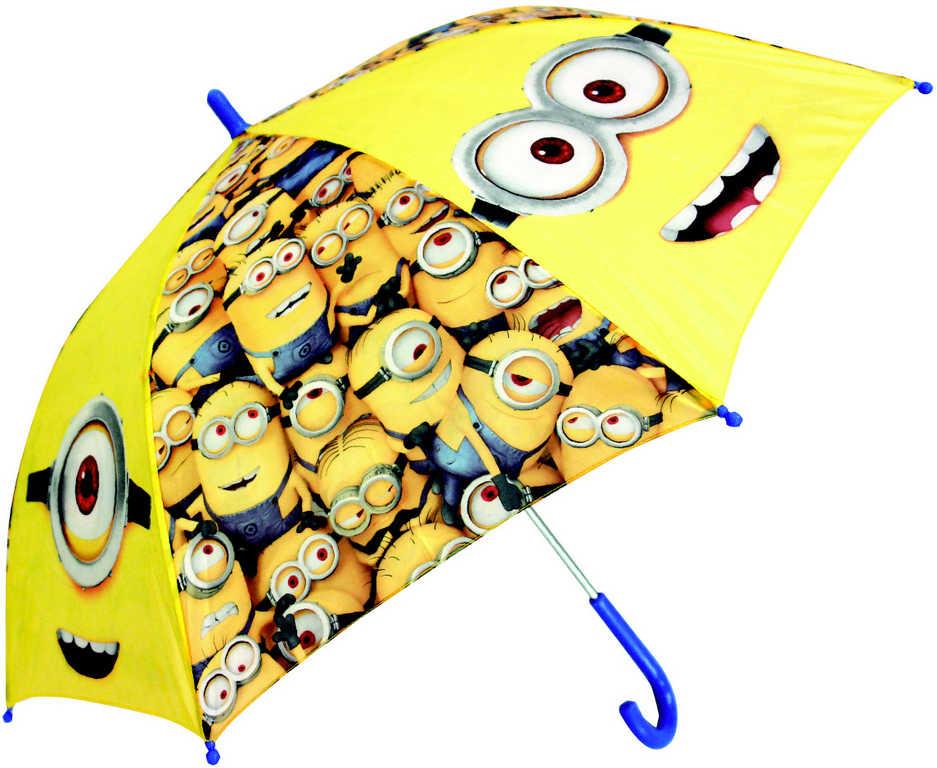 Deštník dětský Disney Mimoni (Minions) manuální otevírání 65cm