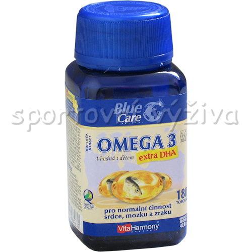 Omega 3 Extra DHA i pro děti 180 tablet