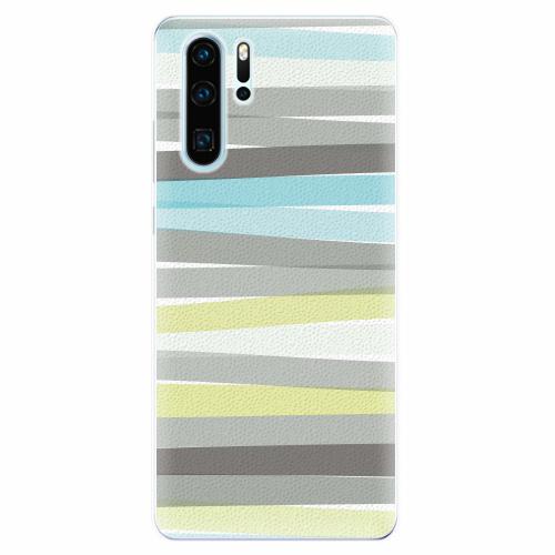 Silikonové pouzdro iSaprio - Stripes - Huawei P30 Pro