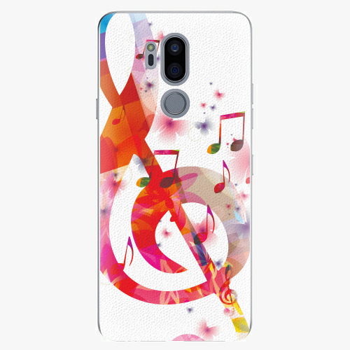 Plastový kryt iSaprio - Love Music - LG G7
