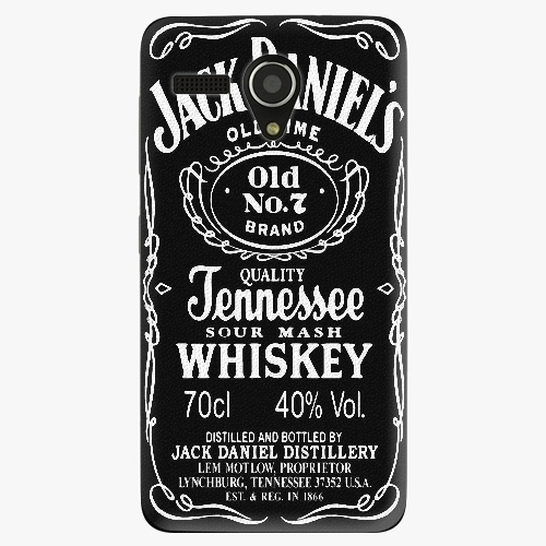 Plastový kryt iSaprio - Jack Daniels - Lenovo A606