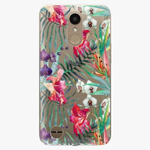 Plastový kryt iSaprio - Flower Pattern 03 - LG K10 2017