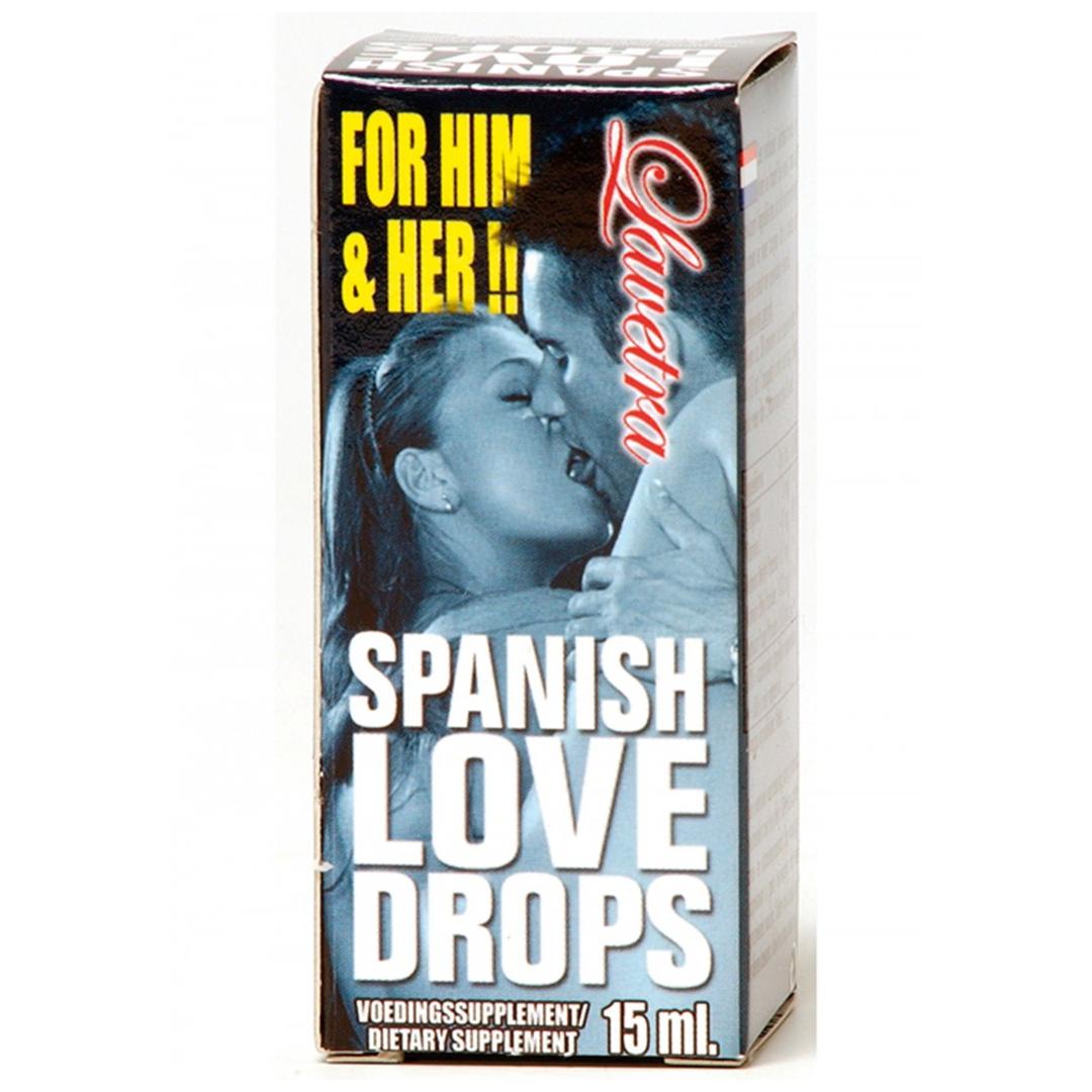 Španělské mušky Spanish Lovedrops Lavetra 15ml
