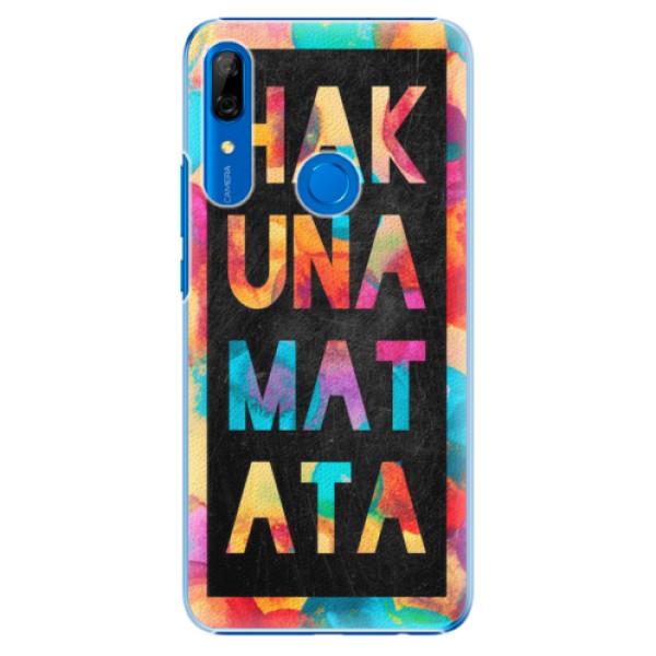 Plastové pouzdro iSaprio - Hakuna Matata 01 - Huawei P Smart Z