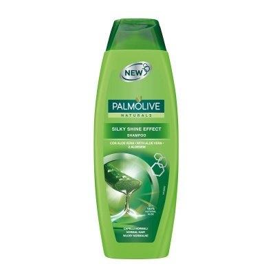 Naturals Silky Shine Effect šampon s výtažky z oliv a aloe vera 350 ml