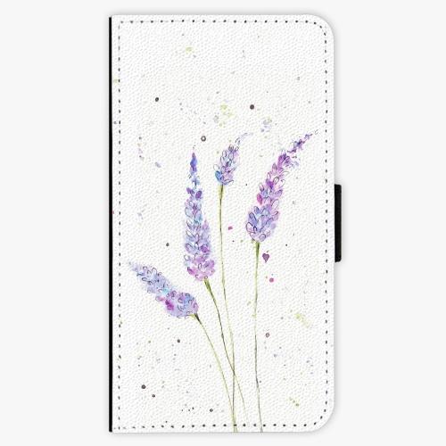 Flipové pouzdro iSaprio - Lavender - iPhone X