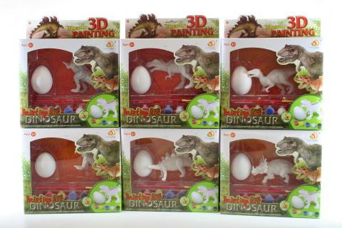 Malování Dinosaur s vejcem