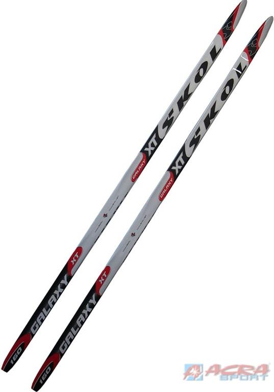 ACRA Běžecké lyže Skol univerzální s hladkou skluznicí 150cm