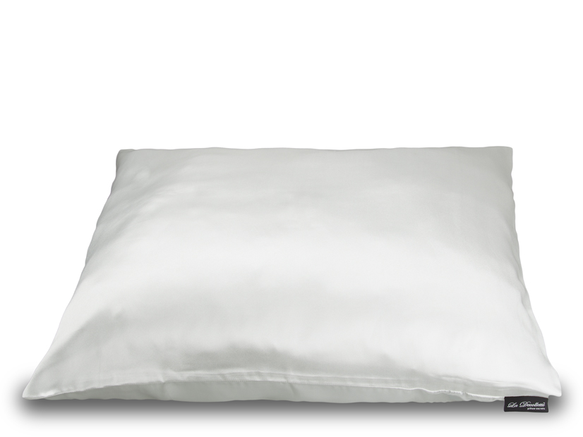 Protivráskové bílé povlečení na polštář - La Decollette - Bílá/uni