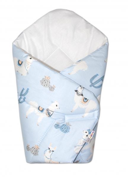 baby-nellys-novorozenecka-zavinovacka-lama-modra