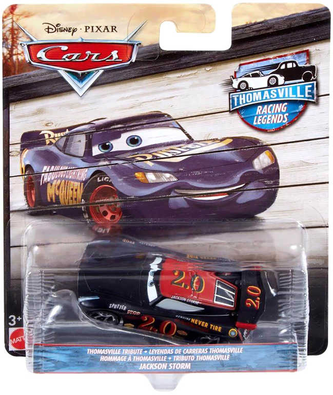 MATTEL Autíčko Auta (Cars) Thomasville racing legends různé druhy kov
