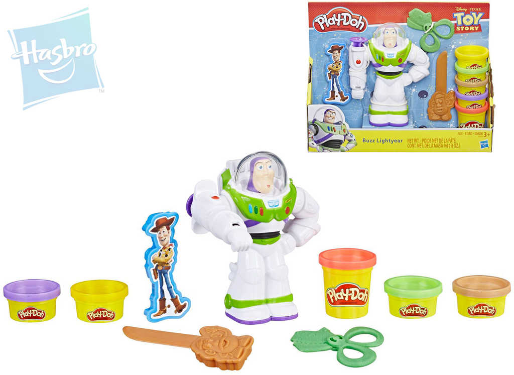 HASBRO PLAY-DOH Toy Story (Příběh hraček) kreativní set modelína s nástroji