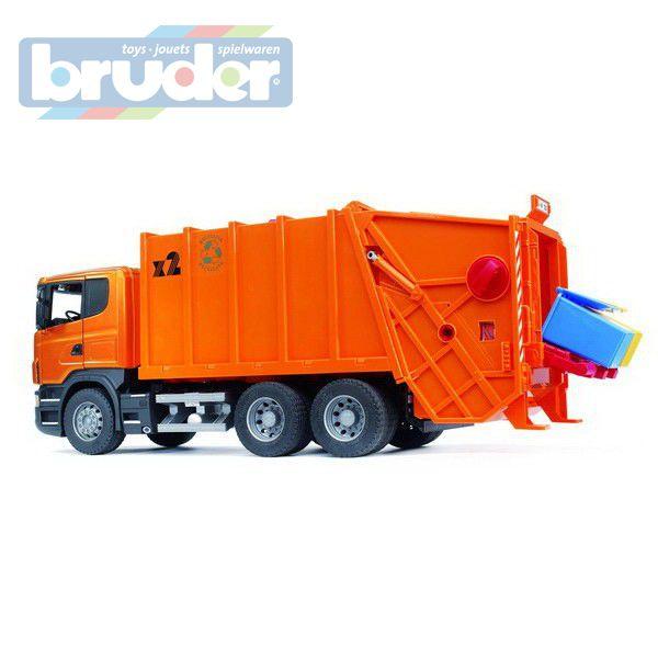 BRUDER 03560 (3560) Nákladní auto Scania popelář