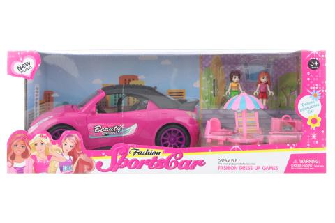Auto pro panenky s doplňky