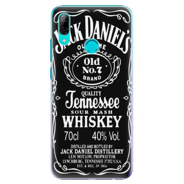 Plastové pouzdro iSaprio - Jack Daniels - Huawei P Smart 2019