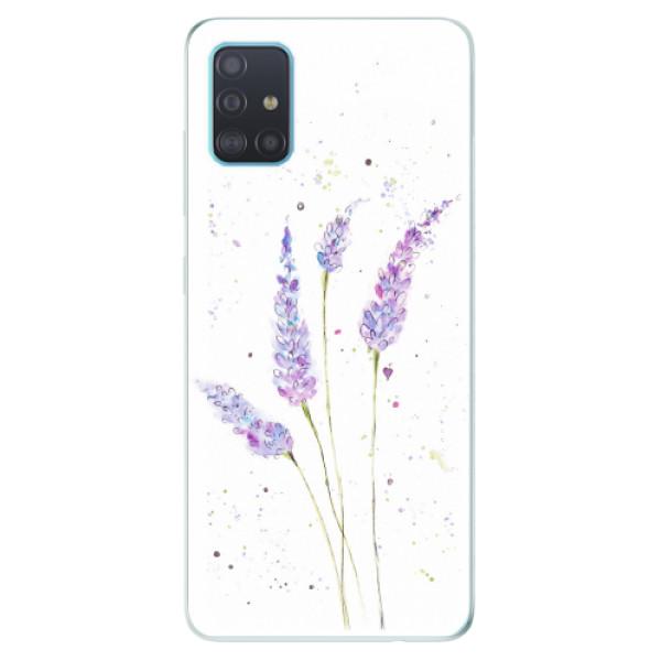 Odolné silikonové pouzdro iSaprio - Lavender - Samsung Galaxy A51