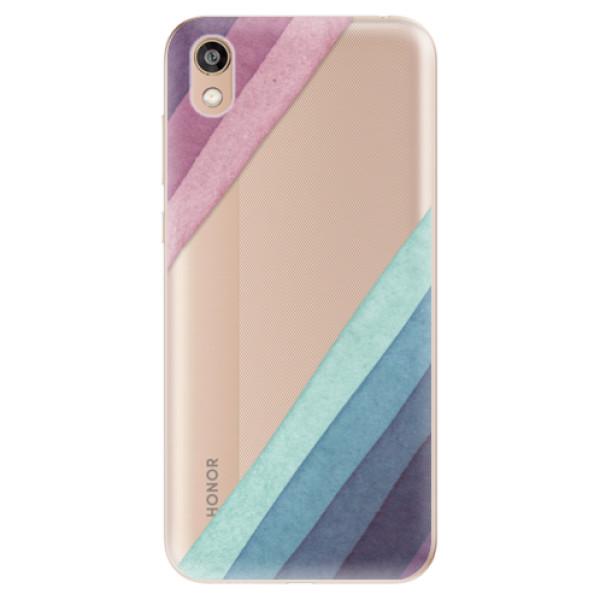 Odolné silikonové pouzdro iSaprio - Glitter Stripes 01 - Huawei Honor 8S