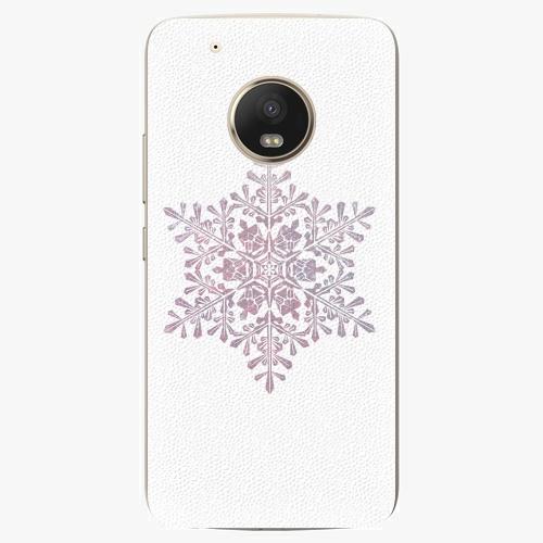 Plastový kryt iSaprio - Snow Flake - Lenovo Moto G5 Plus
