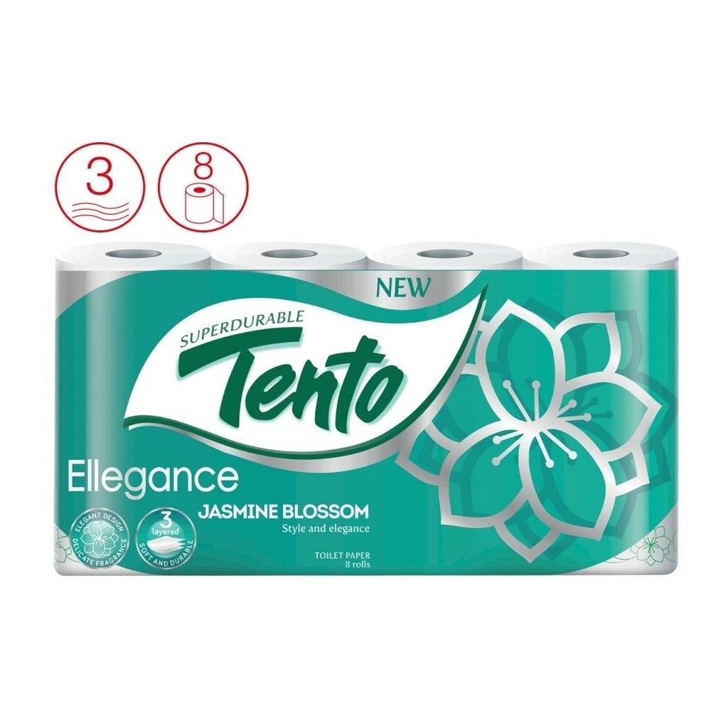 Ellegance Jasmine Blossom parfémovaný toaletní papír 3-vrstvý, 8 ks