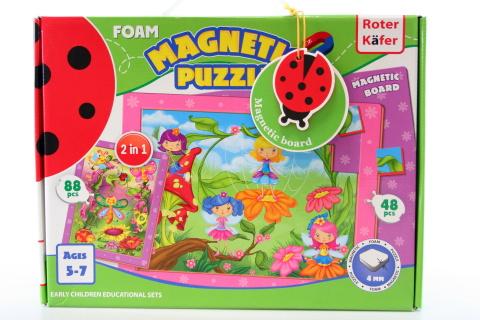 Magnetické puzzle Víly na pasece