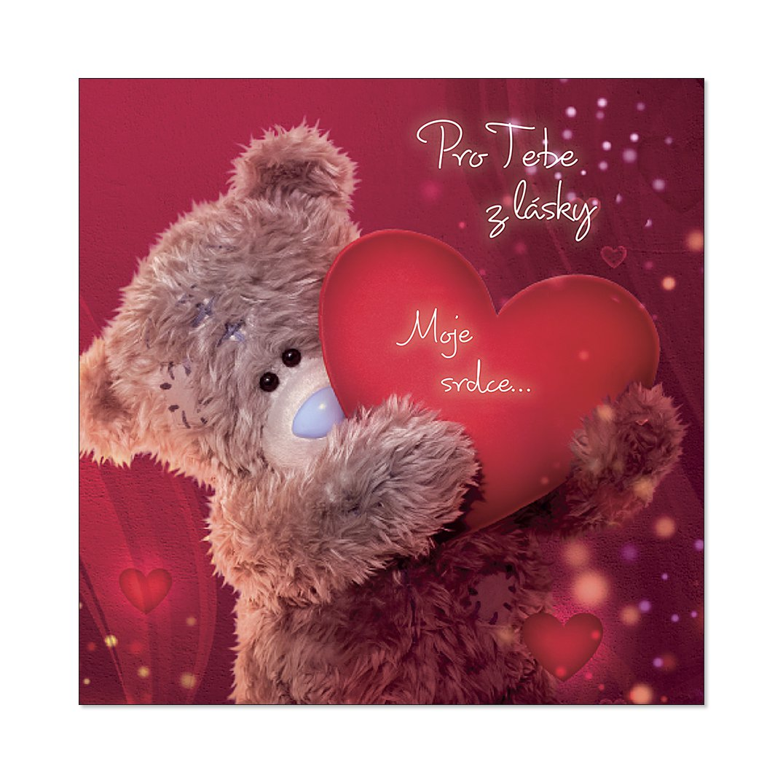 ALBI - 3D přání Me To You se srdcem