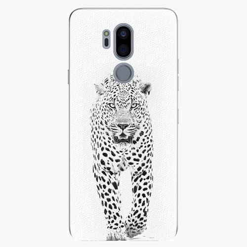 Plastový kryt iSaprio - White Jaguar - LG G7