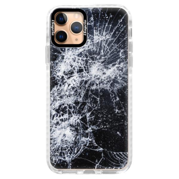 Silikonové pouzdro Bumper iSaprio - Cracked - iPhone 11 Pro