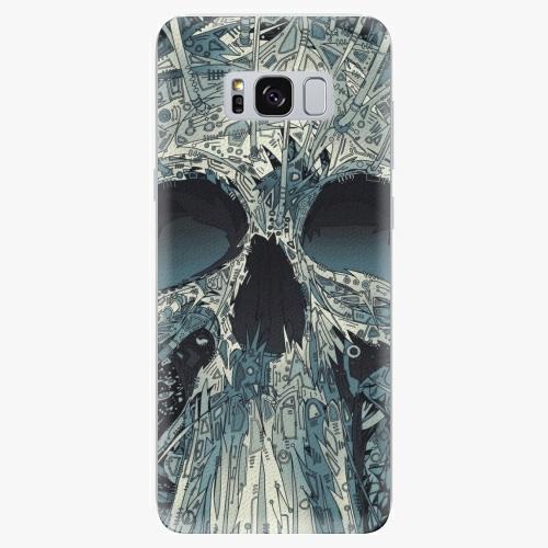 Silikonové pouzdro iSaprio - Abstract Skull - Samsung Galaxy S8