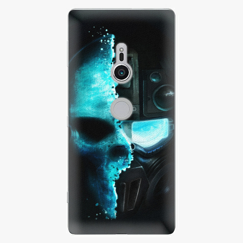Plastový kryt iSaprio - Roboskull - Sony Xperia XZ2