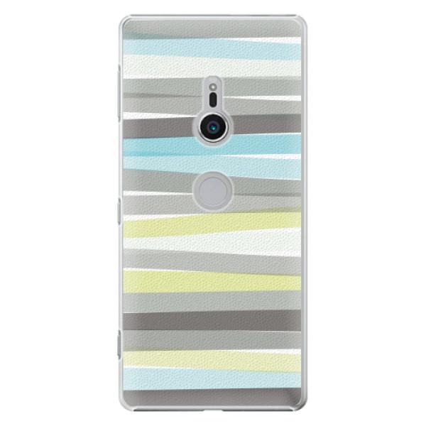 Plastové pouzdro iSaprio - Stripes - Sony Xperia XZ2