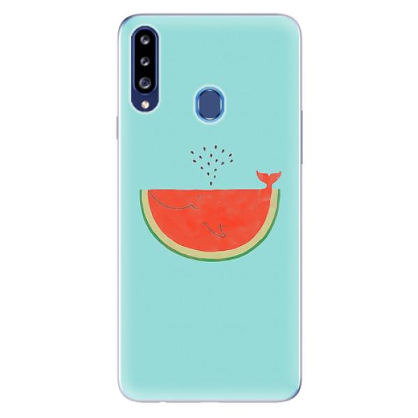 Odolné silikonové pouzdro iSaprio - Melon - Samsung Galaxy A20s