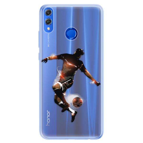 Silikonové pouzdro iSaprio - Fotball 01 - Huawei Honor 8X