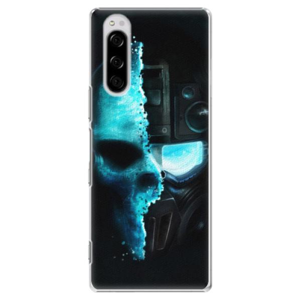 Plastové pouzdro iSaprio - Roboskull - Sony Xperia 5