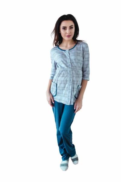 be-maamaa-tehotenske-kojici-pyzamo-3-4-rukav-seda-jeans-xs-32-34