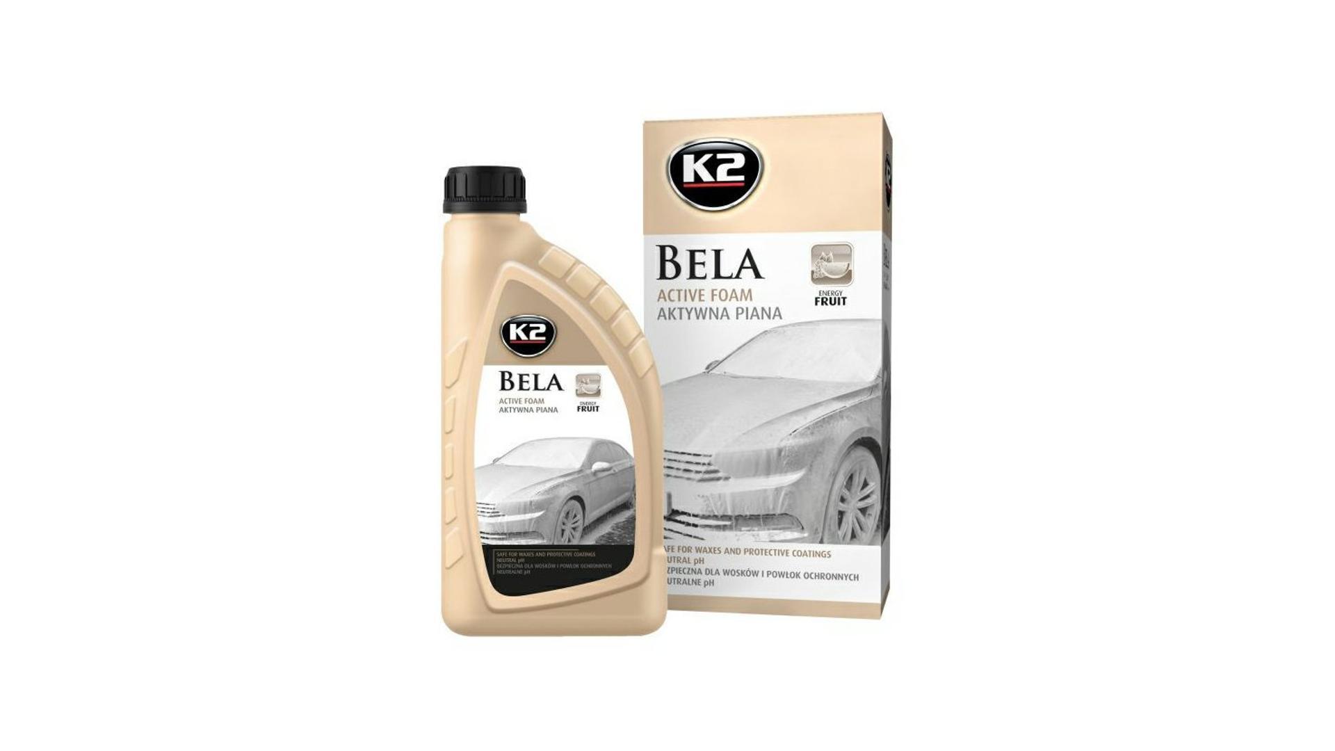 K2 BELA 1 l ENERGY FRUIT - aktivní mycí pěna